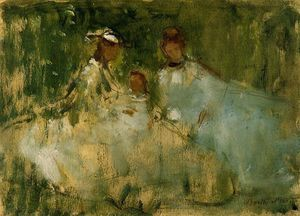 Berthe Morisot - Women and Little Girls in a Natural Setting