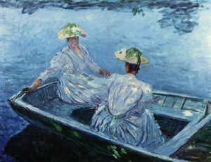 Claude Monet - The Blue Row Boat