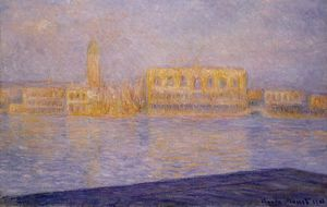 Claude Monet - The Doges- Palace Seen from San Giorgio Maggiore