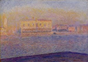 Claude Monet - Venice, The Doges- Palace Seen from San Giorgio Maggiore