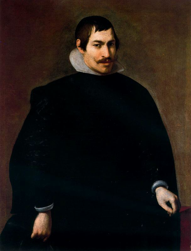 Portrait of a Man, Oil On Canvas by Diego Velazquez (1599-1660, Spain)