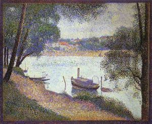 Georges Pierre Seurat - Gray Weather