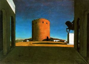 Giorgio De Chirico - The Red Tower