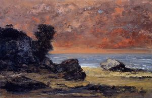 Gustave Courbet - After the Storm