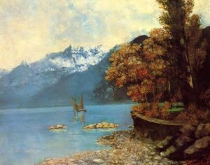 Gustave Courbet - Lake Leman
