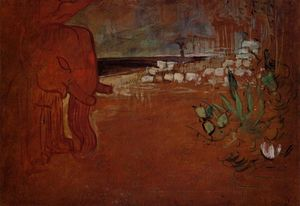 Henri De Toulouse Lautrec - Indian Decor