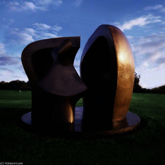 Figure In A Shelter by Henry Moore (1898-1986, United Kingdom) | Art Reproduction | ArtsDot.com