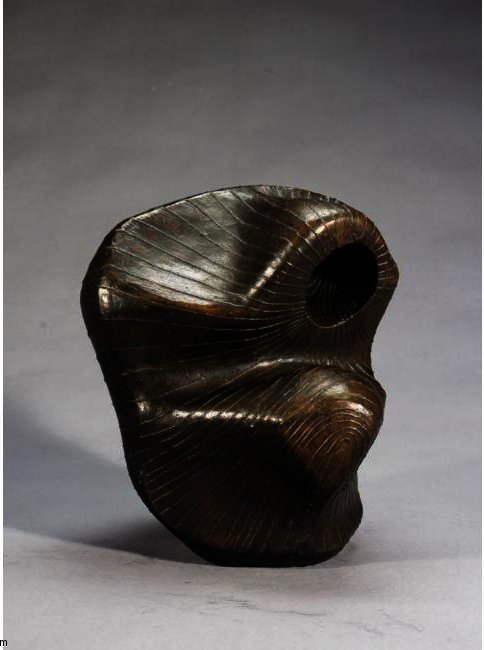Head; Lines, Oil by Henry Moore (1898-1986, United Kingdom)