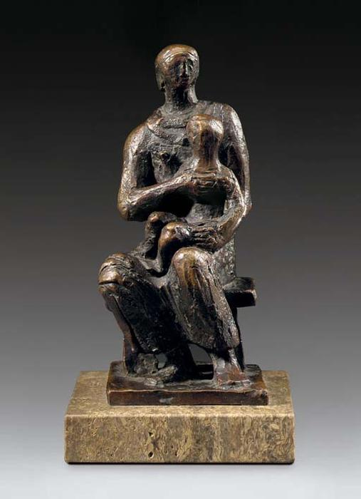 Madonna and Child by Henry Moore (1898-1986, United Kingdom) | Art Reproduction | ArtsDot.com