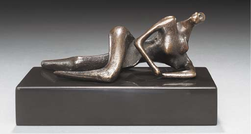 Maquette for Reclining Figure, Engraving by Henry Moore (1898-1986, United Kingdom)