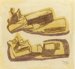 Henry Moore - Reclining Figures 1