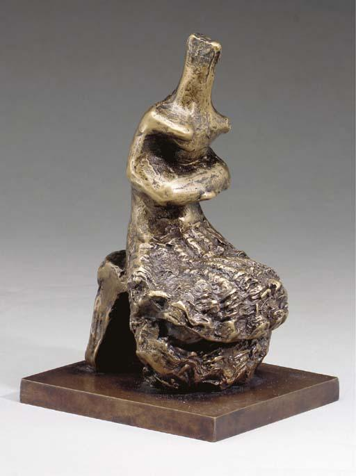 Seated Woman; Shell Skirt by Henry Moore (1898-1986, United Kingdom) | Art Reproduction | ArtsDot.com