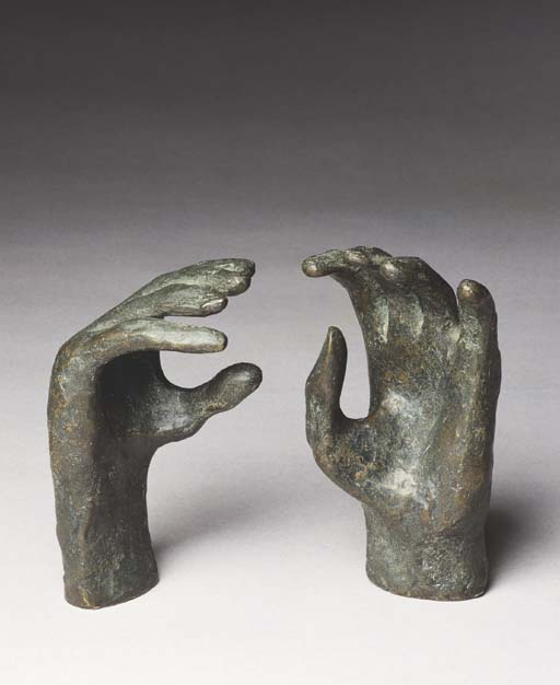Study for Hands of Queen, Engraving by Henry Moore (1898-1986, United Kingdom)
