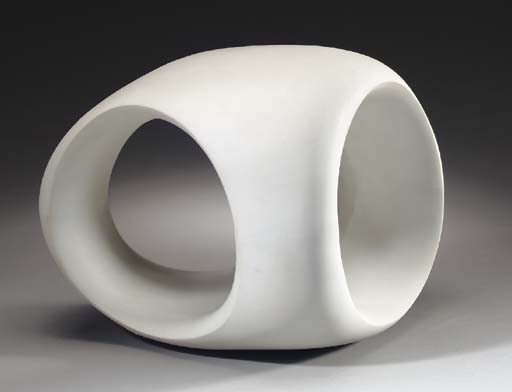 Three-Way Ring, Illustration by Henry Moore (1898-1986, United Kingdom)