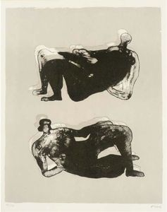 Henry Moore - Two Reclining Figures 7
