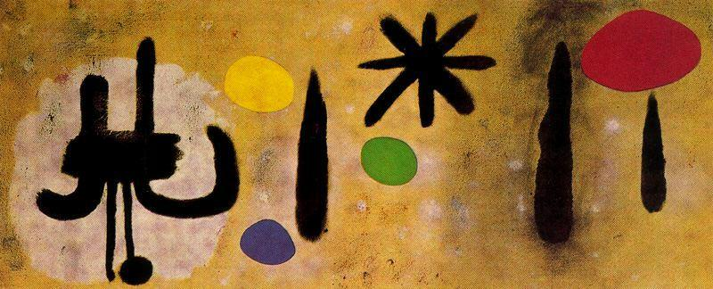 Pintura 8, Oil by Joan Miro (1893-1937, Spain)
