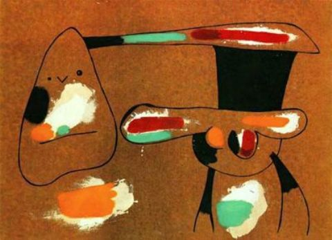Pintura, Oil by Joan Miro (1893-1983, Spain)