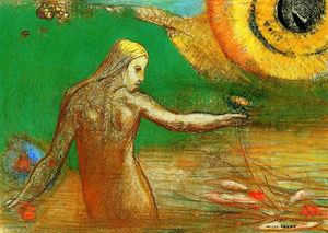 Odilon Redon - Flower of Blood