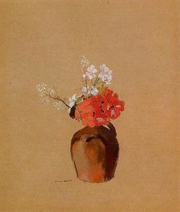 Odilon Redon - Flowers in a Pot