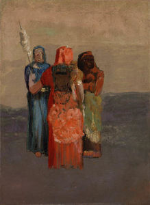 Odilon Redon - The Three Fates