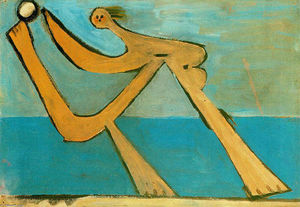 Pablo Picasso - Bather