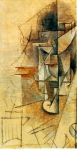 Pablo Picasso - Bottle of wine 1