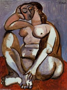 Pablo Picasso - Nude woman sitting 2