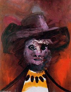 Pablo Picasso - Portrait of a man in hat