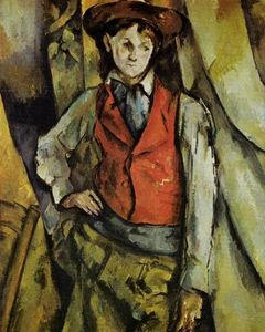 Paul Cezanne - Boy in a Red Vest 1