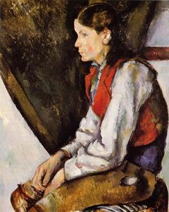 Paul Cezanne - Boy in a Red Vest 3