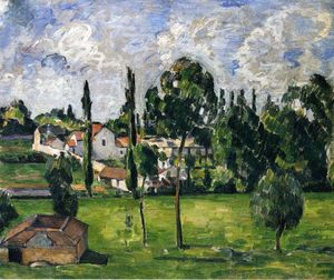 Paul Cezanne - Landscape with a Canal