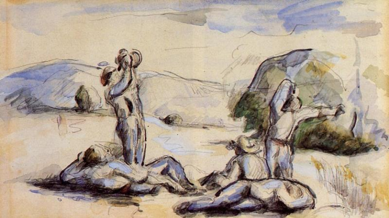Order Museum Quality Copies | The Harvesters, 1878 by Paul Cezanne (1839-1906, France) | ArtsDot.com