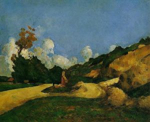 Paul Cezanne - The Road