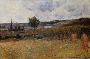 Paul Gauguin - Near Rouen