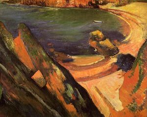 Paul Gauguin - The creek, Le Pouldu