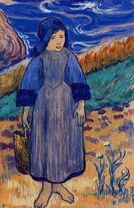 Paul Gauguin - Young Breton by the Sea