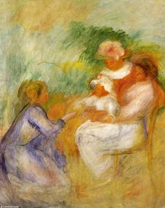 Pierre-Auguste Renoir - Women and Child
