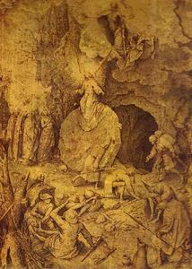 Pieter Bruegel The Elder - The Resurrection of Christ