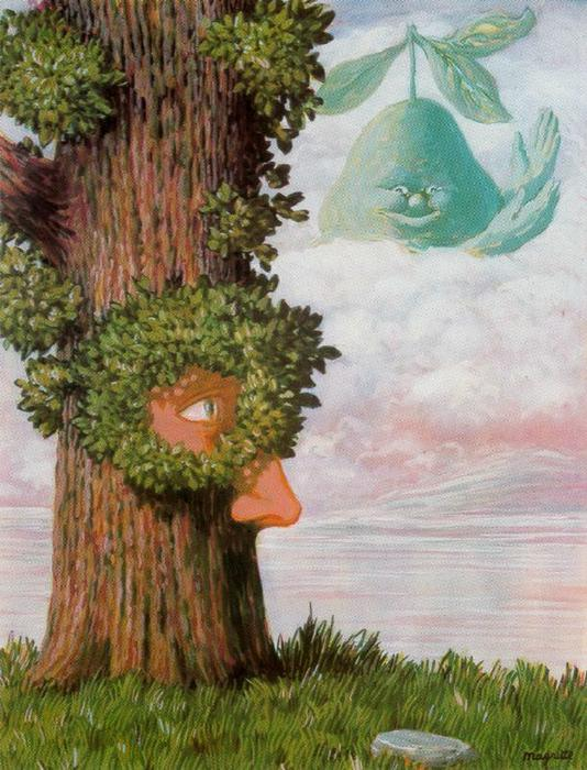Alice in Wonderland by Rene Magritte (1898-1967, Belgium) | Museum Quality Reproductions | ArtsDot.com