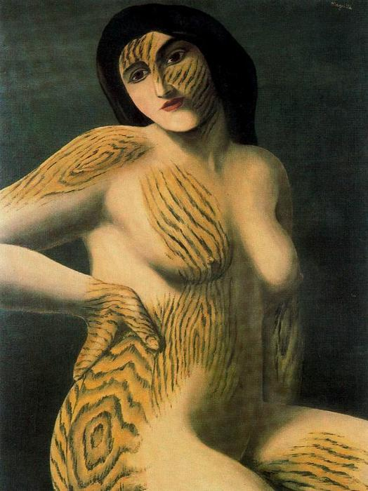 Discovery, 1927 by Rene Magritte (1898-1967, Belgium) | Painting Copy | ArtsDot.com