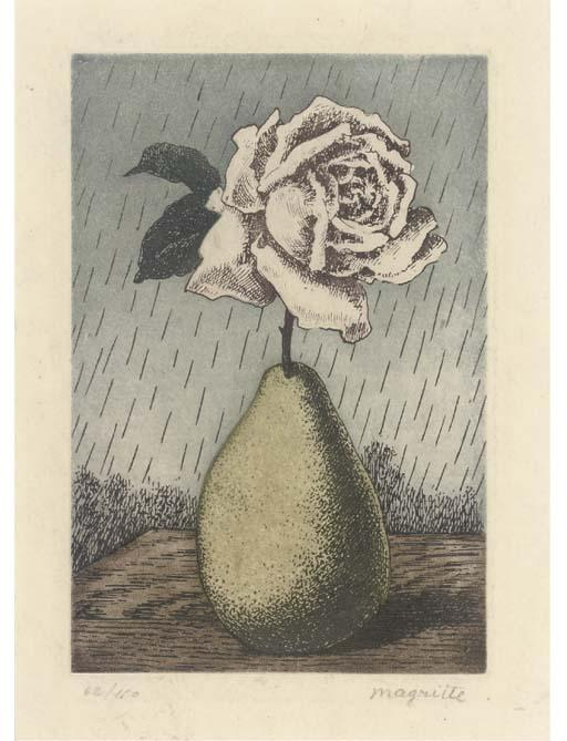 Untitled 1, Oil by Rene Magritte (1898-1967, Belgium)