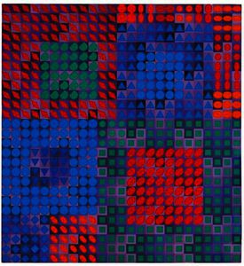 Victor Vasarely - Ourc-C