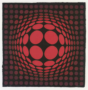 Victor Vasarely - Untitled 4