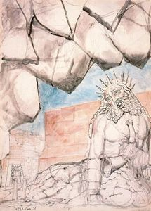 William Blake - The giant Nimrod