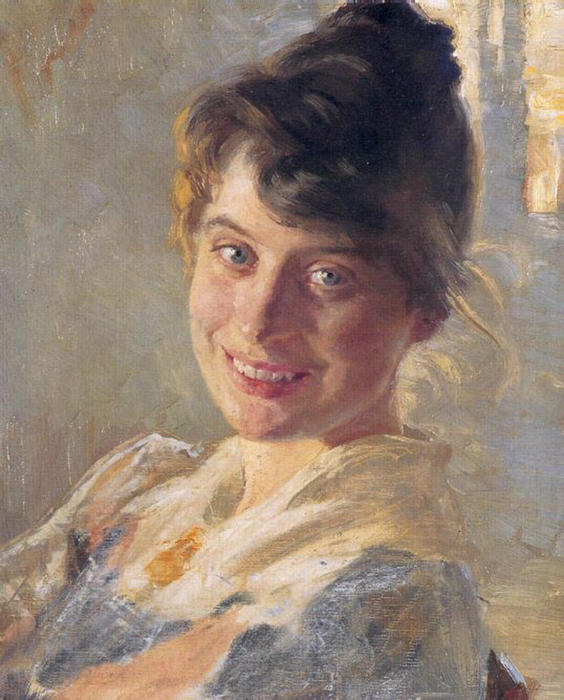 Marie Krøyer 1 by Peder Severin Kroyer (1851-1909, Norway) | Art Reproductions Peder Severin Kroyer | ArtsDot.com