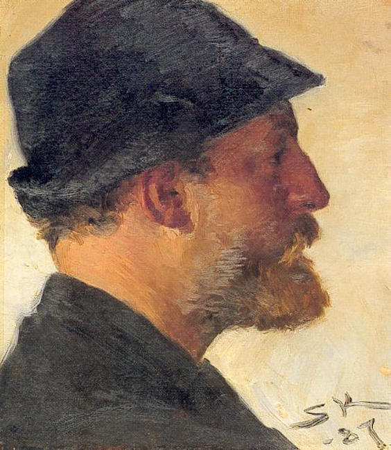 Viggo Johansen by Peder Severin Kroyer (1851-1909, Norway) | Museum Art Reproductions | ArtsDot.com