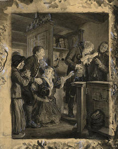 Adolph Menzel - Legal Adviser Reading the Coun..