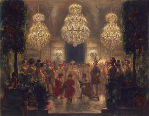Adolph Menzel - Presentation of Rewards to the Participants of the Festival. 1829