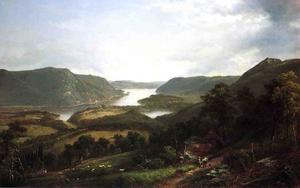 David Johnson - The Hudson River from Fort Montgomery