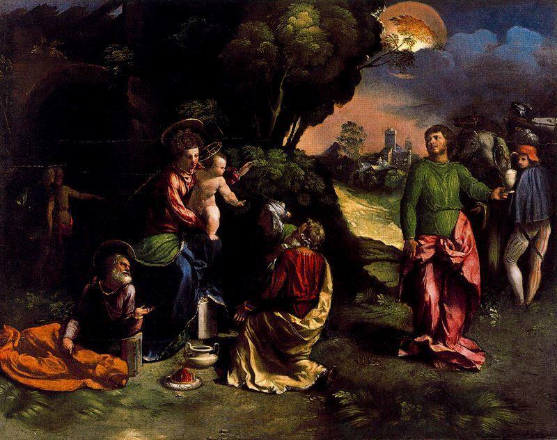 The Adoration of the Kings by Dosso Dossi (Giovanni Di Niccolò De Luteri) (1486-1542, Italy) | Painting Copy | ArtsDot.com